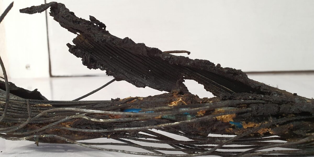Cable Burnt